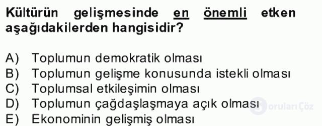 Atatürk İlkeleri ve İnkılap Tarihi II Bahar Final 2. Soru