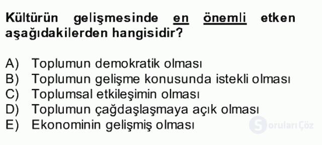 Atatürk İlkeleri ve İnkılap Tarihi II Bütünleme 16. Soru