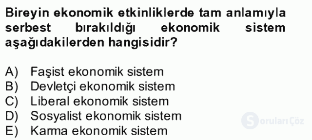 Atatürk İlkeleri ve İnkılap Tarihi II Bütünleme 28. Soru