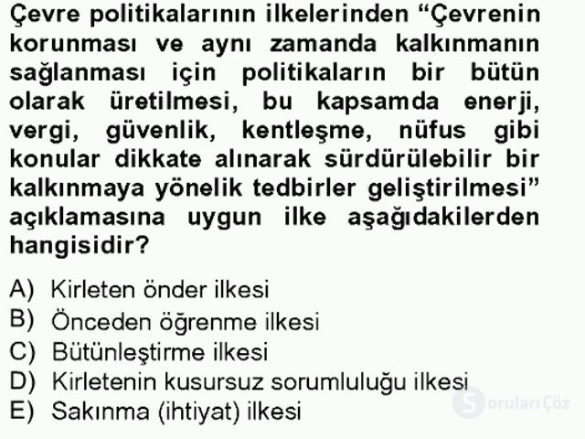 Sosyal Politika II Bahar Final 17. Soru