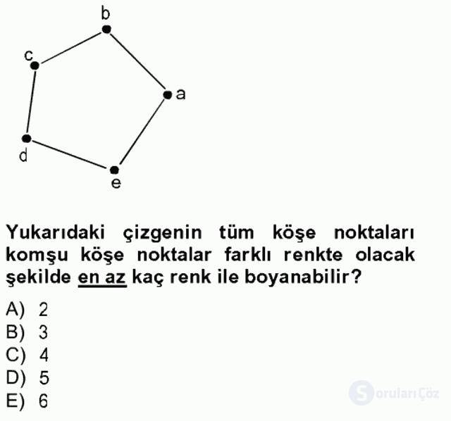 Matematik II Tek Ders Sınavı 10. Soru