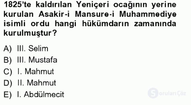 Türkiye'de Sosyoloji Tek Ders Sınavı 1. Soru