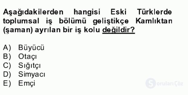 Halk Edebiyatına Giriş II Bahar Dönemi Final 15. Soru