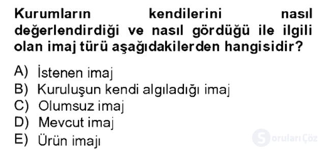 Sözlü ve Sözsüz İletişim Bahar Dönemi Final 13. Soru