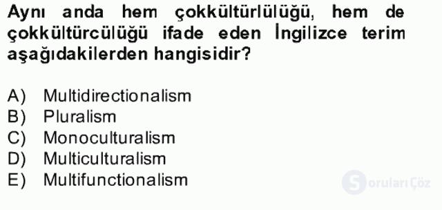 Siyaset Felsefesi II Bahar Final 17. Soru