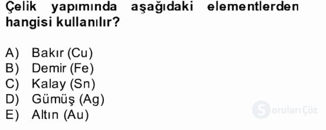 Fizik Bahar Final 15. Soru