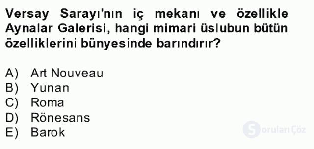 Görsel Kültür Bahar Final 3. Soru