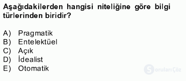 Çağrı Merkezi Yönetimi II Bahar Final 11. Soru
