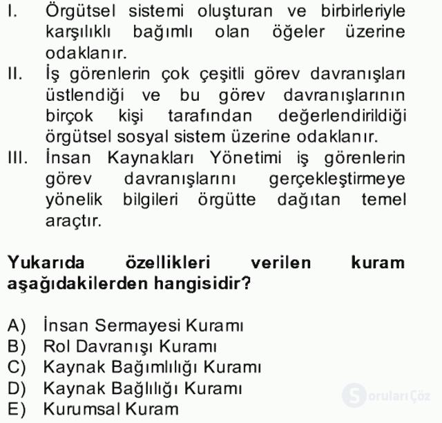 Türk Eğitim Sistemi ve Okul Yönetimi Bahar Final 18. Soru