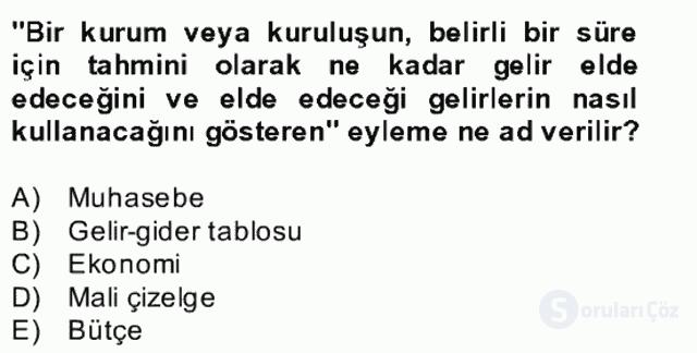 Türk Eğitim Sistemi ve Okul Yönetimi Bahar Final 25. Soru