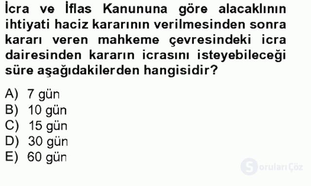 Damga Vergisi ve Harçlar Bilgisi Bahar Final 8. Soru