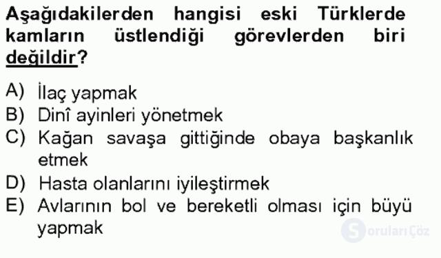 Halk Edebiyatına Giriş II Bahar Final 6. Soru