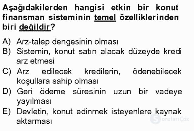 Gayrimenkul Yönetiminde Mesleki Etik Bahar Final 7. Soru