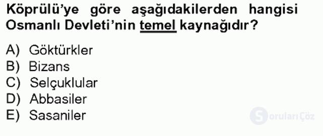 Türkiye'de Felsefenin Gelişimi II Bahar Final 2. Soru