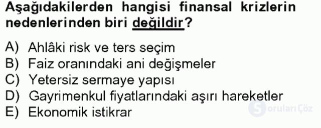 Finansal Yönetim II Bahar Final 16. Soru