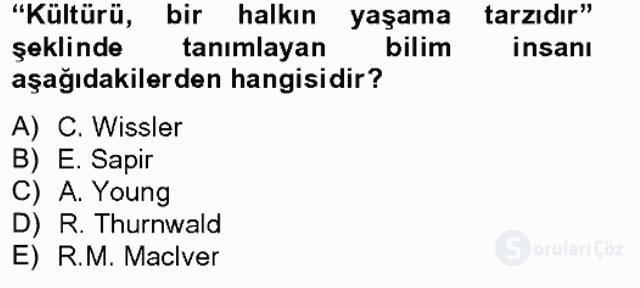 İslâm Kurumları ve Medeniyeti Bahar Final 1. Soru