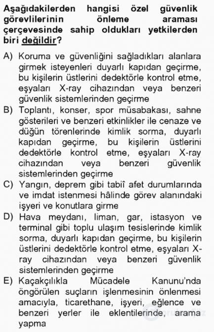 Temel Ceza Muhakemesi Hukuku Bilgisi Bahar Final 10. Soru
