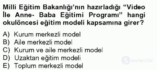 Türk Eğitim Tarihi Bahar Final 2. Soru
