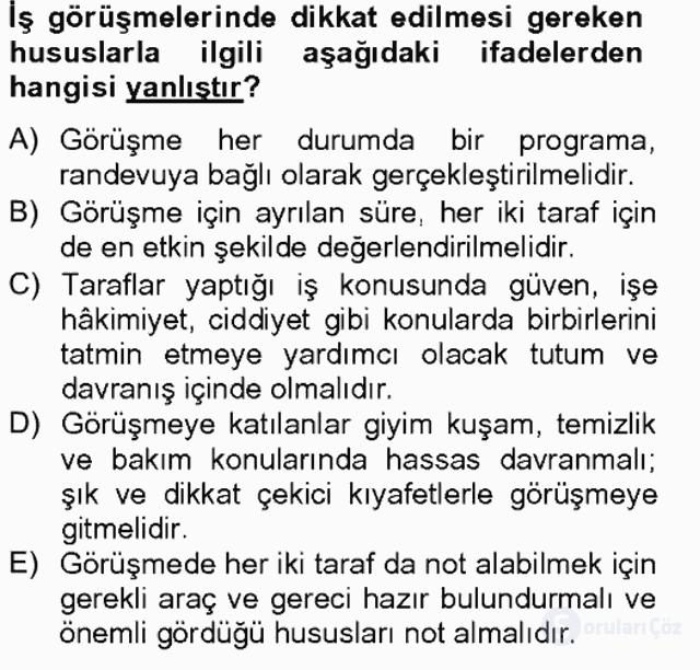 Türk Dili II Tek Ders 18. Soru